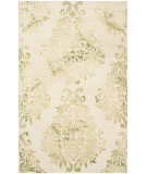 RugStudio presents Safavieh Dip Dyed Ddy516b Beige - Green Hand-Tufted, Best Quality Area Rug