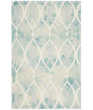 RugStudio presents Safavieh Dip Dyed Ddy534q Green - Ivory Grey Hand-Tufted, Best Quality Area Rug