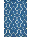 RugStudio presents Safavieh Dhurries DHU415A Dark Blue Flat-Woven Area Rug