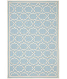 RugStudio presents Safavieh Dhurries Dhu545b Light Blue / Ivory Flat-Woven Area Rug