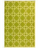 RugStudio presents Safavieh Dhurries DHU548A Olive / Ivory Flat-Woven Area Rug