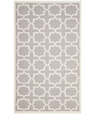 RugStudio presents Safavieh Dhurries DHU549G Grey / Ivory Flat-Woven Area Rug