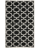 RugStudio presents Safavieh Dhurries DHU549L Black / Ivory Flat-Woven Area Rug