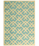 RugStudio presents Rugstudio Sample Sale 46663R Light Blue / Ivory Flat-Woven Area Rug