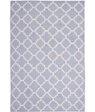 RugStudio presents Safavieh Dhurries DHU554J Purple / Ivory Area Rug