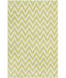 RugStudio presents Safavieh Dhurries DHU557A Green / Ivory Flat-Woven Area Rug