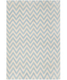 RugStudio presents Safavieh Dhurries DHU557B Blue / Ivory Flat-Woven Area Rug