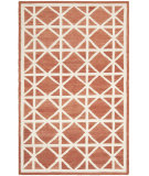 RugStudio presents Safavieh Dhurries DHU558A Red / Ivory Flat-Woven Area Rug