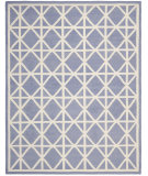 RugStudio presents Safavieh Dhurries DHU558B Purple / Ivory Flat-Woven Area Rug