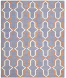 RugStudio presents Safavieh Dhurries DHU559A Purple / Multi Flat-Woven Area Rug