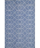 RugStudio presents Safavieh Dhurries DHU560A Blue / Ivory Flat-Woven Area Rug