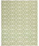 RugStudio presents Safavieh Dhurries DHU560B Sage / Ivory Flat-Woven Area Rug