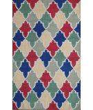 RugStudio presents Safavieh Dhurries DHU561A Blue / Multi Flat-Woven Area Rug
