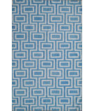 RugStudio presents Safavieh Dhurries DHU562A Light Blue / Ivory Flat-Woven Area Rug