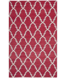 RugStudio presents Safavieh Dhurries DHU564A Red / Ivory Flat-Woven Area Rug