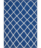 RugStudio presents Safavieh Dhurries DHU565A Dark Blue Flat-Woven Area Rug