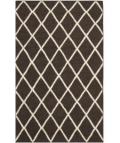 RugStudio presents Safavieh Dhurries DHU565C Brown / Ivory Flat-Woven Area Rug