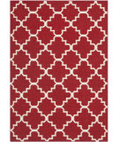 RugStudio presents Safavieh Dhurries DHU566B Red / Ivory Flat-Woven Area Rug