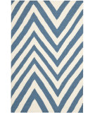RugStudio presents Safavieh Dhurries DHU568A Blue / Ivory Flat-Woven Area Rug