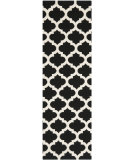 RugStudio presents Safavieh Dhurries Dhu623a Black / Ivory Flat-Woven Area Rug
