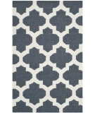 RugStudio presents Safavieh Dhurries Dhu623b Blue / Ivory Flat-Woven Area Rug