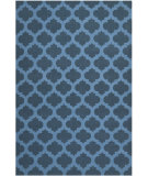 RugStudio presents Safavieh Dhurries Dhu623c Ink Flat-Woven Area Rug
