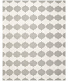 RugStudio presents Safavieh Dhurries Dhu624b Grey / Ivory Flat-Woven Area Rug