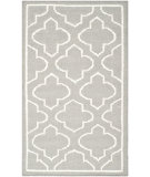 RugStudio presents Safavieh Dhurries Dhu625b Grey / Ivory Flat-Woven Area Rug