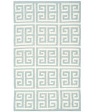 RugStudio presents Safavieh Dhurries Dhu626a Blue / Ivory Flat-Woven Area Rug