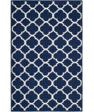RugStudio presents Safavieh Dhurries DHU627D Navy / Ivory Area Rug
