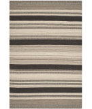 RugStudio presents Safavieh Dhurries DHU628A Natural / Black Flat-Woven Area Rug