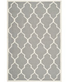 RugStudio presents Safavieh Dhurries DHU632B Grey / Ivory Area Rug