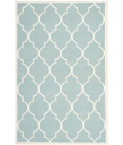 RugStudio presents Safavieh Dhurries DHU632C Light Blue / Ivory Area Rug