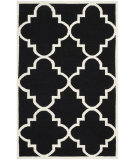 RugStudio presents Safavieh Dhurries DHU633A Black / Ivory Area Rug