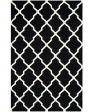 RugStudio presents Safavieh Dhurries DHU634A Black / Ivory Flat-Woven Area Rug