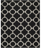 RugStudio presents Safavieh Dhurries DHU636A Black / Ivory Area Rug