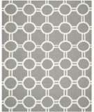 RugStudio presents Safavieh Dhurries DHU636B Grey / Ivory Area Rug