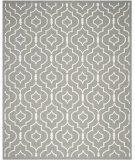 RugStudio presents Safavieh Dhurries DHU637B Grey / Ivory Flat-Woven Area Rug