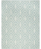 RugStudio presents Safavieh Dhurries DHU637C Light Blue / Ivory Area Rug