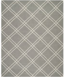 RugStudio presents Safavieh Dhurries DHU638B Grey / Ivory Area Rug