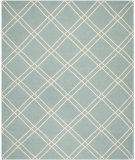 RugStudio presents Safavieh Dhurries DHU638C Light Blue / Ivory Area Rug