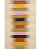 RugStudio presents Safavieh Dhurries Dhu642a Beige - Multi Woven Area Rug