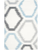 RugStudio presents Safavieh Dhurries Dhu655a Ivory - Multi Flat-Woven Area Rug