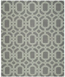 RugStudio presents Safavieh Dhurries DHU860A Grey / Light Blue Area Rug