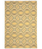 RugStudio presents Safavieh David Easton DVE517A Saffron Yellow Area Rug