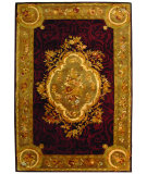 RugStudio presents Safavieh Empire EM414A Dark Red / Dark Beig Hand-Tufted, Best Quality Area Rug