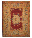 RugStudio presents Safavieh Empire EM422A Burgundy / Gold Hand-Tufted, Best Quality Area Rug
