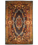 RugStudio presents Safavieh Empire EM423A Black / Blue Hand-Tufted, Best Quality Area Rug