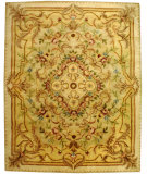 RugStudio presents Safavieh Empire EM823A Beige / Light Gold Hand-Tufted, Best Quality Area Rug