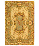 RugStudio presents Safavieh Empire EM824A Ivory / Light Blue Hand-Tufted, Best Quality Area Rug